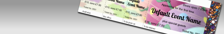 print easter event tickets with holograms performance ticket printers